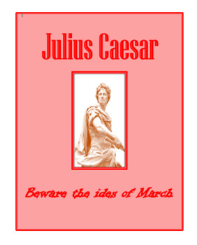 Julius Caesar All Assessments Bundle
