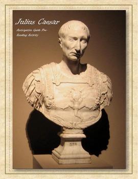 Julius Caesar Anticipation Activity