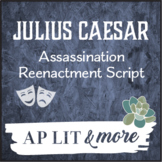 Julius Caesar Assassination Reenactment Script