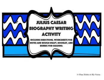 Julius Caesar Biography Writing Activity (Core Knowledge)
