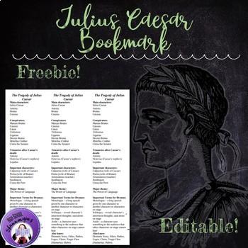 Julius Caesar Bookmark