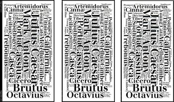 Julius Caesar Bookmarks Characters
