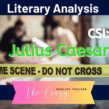 Julius Caesar: CSI Classroom Investigation and Murder Board
