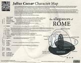 Julius Caesar Character Map
