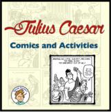 Julius Caesar Comics and Activities