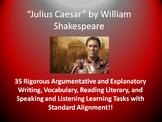 Julius Caesar Common Core Learning Tasks - 35 Rigorous Activities!!