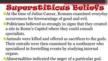 William Shakespeare's Julius Caesar Curriculum Unit
