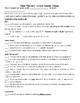 Julius Caesar (Shakespeare) Writing Prompts and Rubric