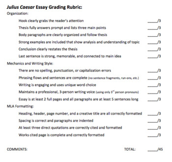julius caesar essay topics julius caesar essay prompts by as the page turns tpt