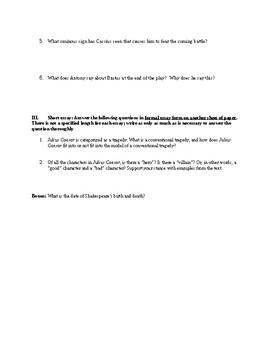 30 Julius Caesar Essay Topics | blogger.com