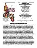 Julius Caesar Film (1953) Study Guide Movie Packet