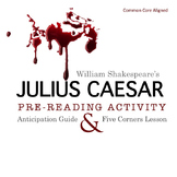 Julius Caesar Pre-Reading Informal Debate Activity (Common Core Aligned)