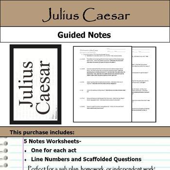 Julius Caesar - Guided Notes