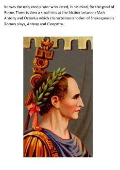 Shakespeare - Julius Caesar Handout