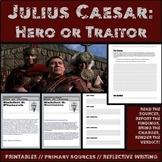 Julius Caesar: Hero or Tyrant Primary Source and Analysis