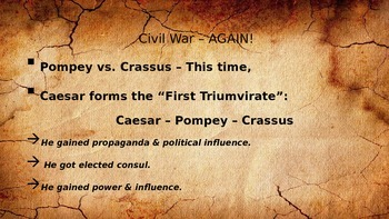 Julius Caesar Historical Background