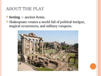 Julius Caesar Intro Slideshow Notes