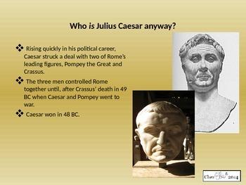 Julius Caesar Introduction Presentation