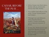 Julius Caesar Introductory Power Point Presentation
