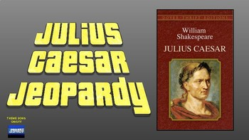 Julius Caesar Jeopardy (Google Slides)
