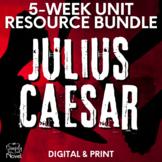 Julius Caesar Literature Guide, Complete Unit - No Prep Handouts, Tests & More