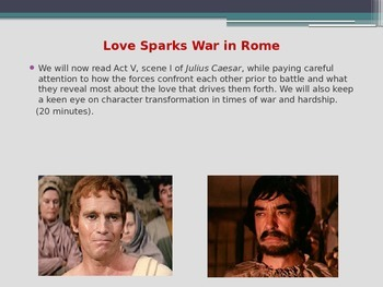 """Shakespeare's Julius Caesar - Valentine's Day Special - """"Love"""" in Many Forms"""