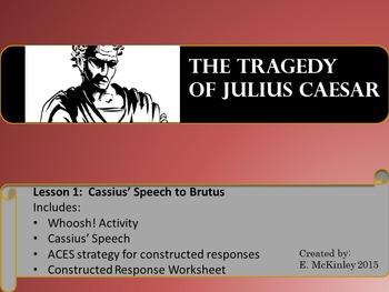 Julius Caesar Mini-lesson Cassius' Speech to Brutus