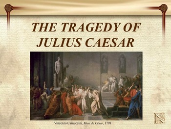 Julius Caesar Novel Study Unit ~  Includes Reproducible Graphic Organizers