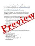 Julius Caesar Pre-reading Research Paper