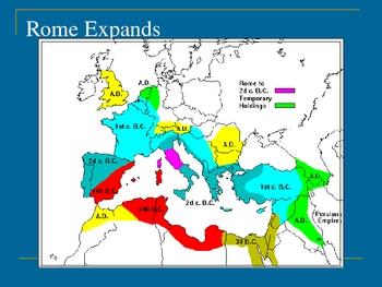 Julius Caesar Presentation w/ Short Overview of Roman Empire