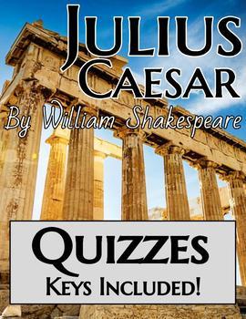 Julius Caesar Quizzes