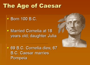Julius Caesar Roman Culture & History (Shakespeare's Play)