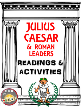 Julius Caesar / Rome Reading & Activity - Julius Caesar &