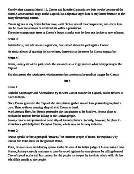 Julius Caesar Scene By Scene Review