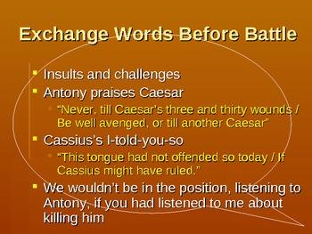 Julius Caesar (Shakespeare's Play) PowerPoint Bundle