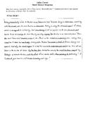Julius Caesar Short Answer Response Sample #3 (STAAR Test Prep) EOC