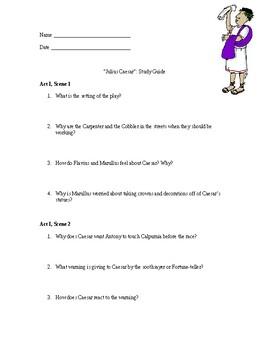 Julius Caesar: Study Guide