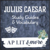 Julius Caesar Study Guides & Vocabulary