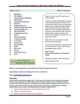 Julius Caesar- Teacher Text Guides and Worksheets