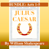 Julius Caesar: Bundle of Tests for All Five Acts (Assessme