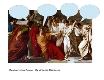 Julius Caesar Thought Bubble