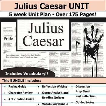 Julius Caesar Complete Unit Plan