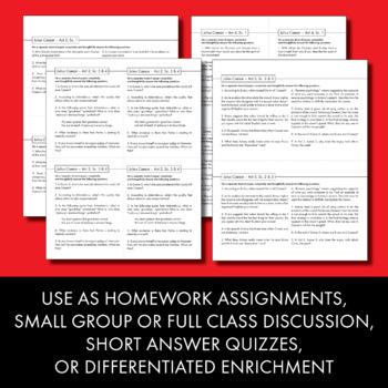 julius caesar high school worksheets julius best free printable worksheets. Black Bedroom Furniture Sets. Home Design Ideas