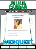 Julius Caesar - Webquest with Key (Ancient Rome)  Google D