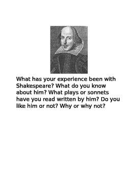 Julius Caesar Writing Prompts