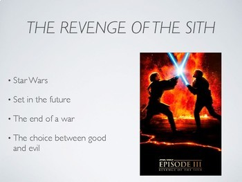 Julius Caesar and Star Wars Revenge of the Sith