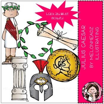 Julius Caesar clip art - Mini - Melonheadz Clipart