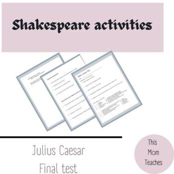 Julius Caesar final test