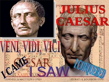 Julius Caesar introduction with pictures