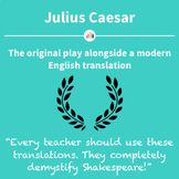 Julius Caesar: the Original Play Alongside a Modern English Translation
